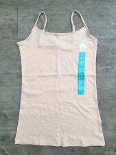 NEW Primark Ladies Womens Stretch Cami Vest Top Adjustable Straps 17 Colours