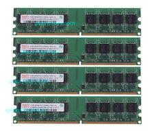 Hynix 4GB 4X 1GB 1 GB PC2-5300U DDR2 667MHz 2RX8 DIMM RAM Desktop Memory CL5 4 G