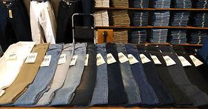 Men's Levi's Authentic Denim Jeans 501 Original Fit, 505, 511, 514, 559 & More