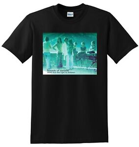 BOARDS OF CANADA T SHIRT music has the right to children SMALL MEDIUM LARGE XL