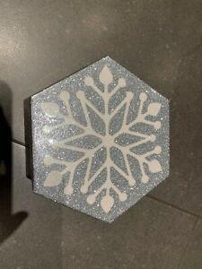 Silver Snowflake Holiday Gift Box