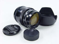 Black Rangefinder 85mm f/2 JUPITER-9 Zorki Leica LTM39 s/n 6800887. Sonnar USSR