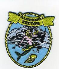 USS Triton SS 201 - Merman/Submarine - WW II Lost Boat - BC Patch Cat No. c5774