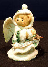 "Cherished Teddies ""Stormi� ""Hark the herald angels sing� figurine angel China"