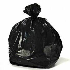 ToughBag 55-60 Gallon Trash Bags, 38W x 58H, 1.2 Mil, Black, 100 / Case