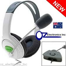 XBOX 360 Stereo Gaming Headphones Headset & Microphone XL Sensational Headphone