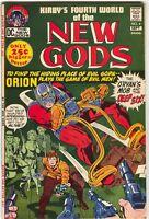 New Gods 4 DC 1971 VF NM Jack Kirby Orion Darkseid