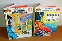 Aventure des  3A 2 Editions récréabull années 80' Mitteï et Vasseur