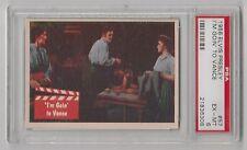 1956 BUBBLES INC ELVIS PRESLEY I'M GOIN' TO VANCE CARD #57 PSA 6 EX-MT COND