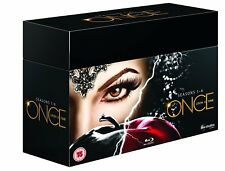 ONCE UPON A TIME Seasons 1-6 [Blu-ray Set] Complete Series Collection Disney ABC