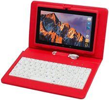 Tablet PC Pantalla táctil de 7 Pulgadas, Qrdenador Tablet Quad-Core Cámara ,WiFi
