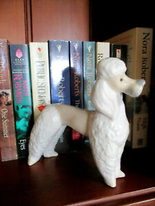 Lovely Zaphir Poodle Figurine    14cm or 5.5 inches High   Excellent Condition