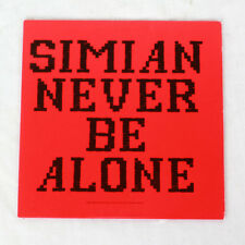 Simian - Never Be Alone - music cd ep