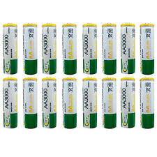 16 x AA 2A 3000 (Actual 300mAh) 1.2V Ni-MH Rechargeable Battery Cell BTY Green