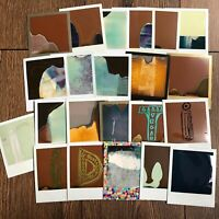 22 Failed Polaroid & Impossible Project 600 & SX70 Instant Photos for Collage