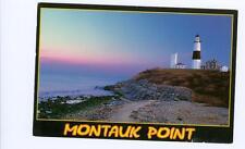 Montauk Point, LI, NY used postcard 1997