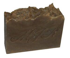 Sandalwood Vanilla Rhassoul Clay Hemp Soap-Palm Free, Organic by MJR Soaps