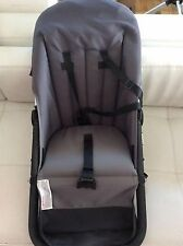 Bugaboo Cameleon Stroller Replacment parts Toddler Seat Frame fabric gray Frog