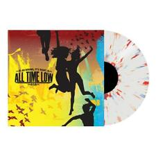ALL TIME LOW - So Wrong, It's Right, Ltd CLEAR w/ RED & BLUE SPLATTER + DL New!
