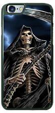 Halloween Grim Reaper Scythe Phone Case Cover For iPhone Samsung LG Google