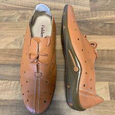 Neues AngebotDamen Padders Mull 302 orange Leder Loafer Pumps Schuhe Größe UK 7, eu40 BNWOT