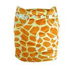 Alva Minky washable R-usable BABY CLOTH DIAPER Nappy+1insert A11 super fashion