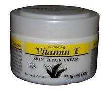 Australian Vitamin E Skin Repair Face Body Cream Moisturiser Lotion 250g