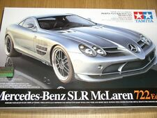 Tamiya 1/24 Mercedes-Benz SLR McLaren 722 ed. Model Car Kit #24317