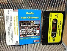 GRUBE VOM CHIEMSEE Die Priener Blasmusik cassette-tape jazz swing brass band