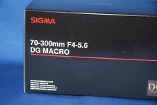 SIGMA 70-300mm f/4-5.6 DG Macro Lens for Nikon DSLR Cameras - Japan