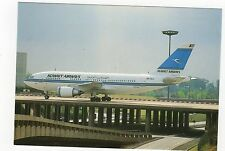 Kuwait Airlines Airbus A310-300 Aviation Postcard, A689