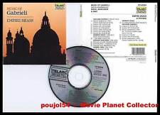 GABRIELI + ISSAC,BANCHIERI,DIAZ (CD) Empire Brass 1989