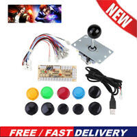 Arcade USB Encoder PC to Joystick Button DIY Set For MAME Fight Stick Full Kits