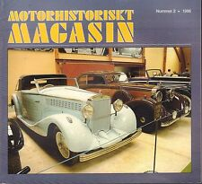 Motorhistoriskt Magasin Swedish Car Magazine #2 1986 Bilen 1886 031617nonDBE
