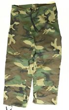 US Army ECWCS Cold Wet Weather Goretex Hose woodland camouflage LS Large Short