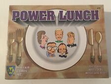 "New/Sealed & Vintage ""Power Lunch"" Game Mayfair Games - 1994 Edition"