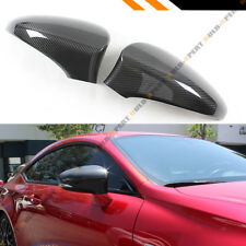 FOR 2013-18 LEXUS IS200t IS250 IS350 ADD-ON CARBON FIBER SIDE MIRROR COVER CAPS
