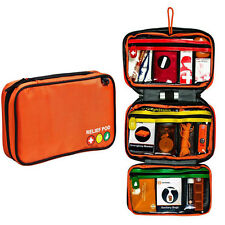 45pc Emergency Kit Travel First Aid Medical Survival Care For Car Roadside Home
