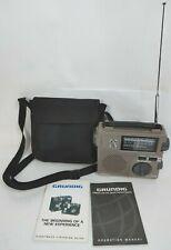 Grundig Fr-200 Emergency Crank Radio AM/FM/SW World Band With Light Manual Guide