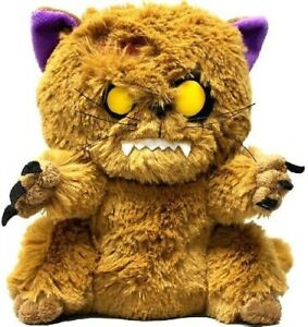 Zombie Pets Creepy Cuddlers Plush Toy By Mezco Bitey The Undead Cat NEW