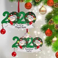2020 Xmas Christmas Tree Hanging Ornaments Family Ornament Decor Snowman Doll