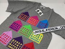 Gosha rubchinskiy Dover Street Market L Singapur grandes Camiseta Camiseta grey`dsm