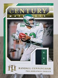 2020 National Treasures Randall Cunningham /49 Century Materials Patch!
