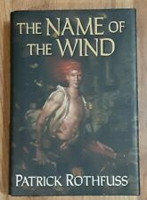 Patrick Rothfuss Name of the Wind RARE Fabio variant 1st edition