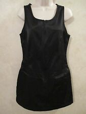 NWT Juniors ESPRIT SZ 9/10 S M Black Above Knee Sleeveless Dress~$39.00 Tag!