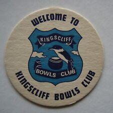 KINGSCLIFF BOWLS CLUB COASTER