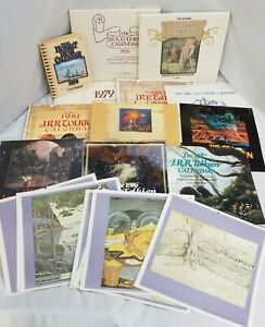 J.R.R. Tolkien Lord of The Rings (LOTR) Calendar Some NEW, 1976 1978 1979 1980 +