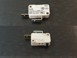 Cherry Miniatur Micro Schalter Microswitch D45Y Schließer 16A 250VAC 2 x