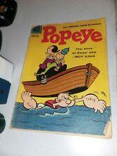 Popeye the sailor #46 dell comics 1958 early silver age cartoonOrigin Swee' Pea