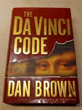 """New listing """"The Da Vinci Code"""" by Dan Brown (Hardcover 2003) - Dust Jacket - Good Condition"""